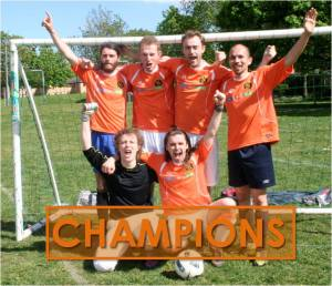 NXI are crowned inaugural champions of the Luther Blissett 3SF League